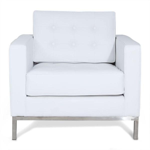 Variedades de sillones. Sofá Mies monoplaza blanco: Productos de Constan