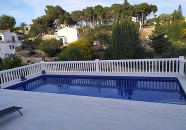 Villa terraces