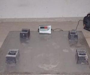 Fabricación de plataformas para pesaje