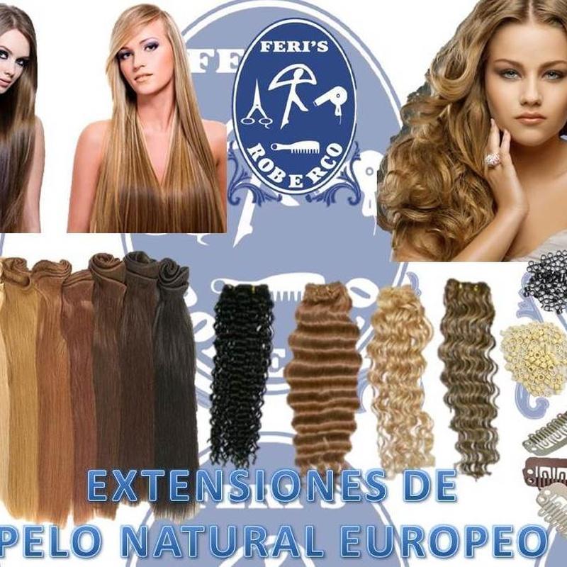 Extensiones de Pelo Natural : Productos  de Feri´s Roberco