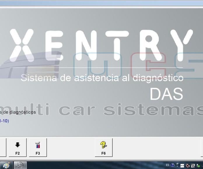 Xentry DAS Sistema de asistencia al diagnóstico 2018 español castellano