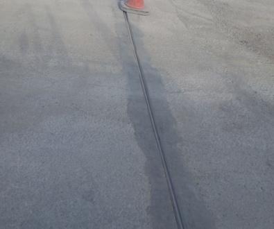 Arreglo de guía de suelo de cancela corredera
