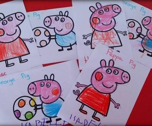 Pintamos a Peppa y George