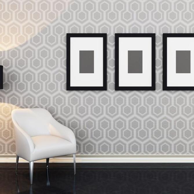 Ideas para emplear papel pintado en tu casa