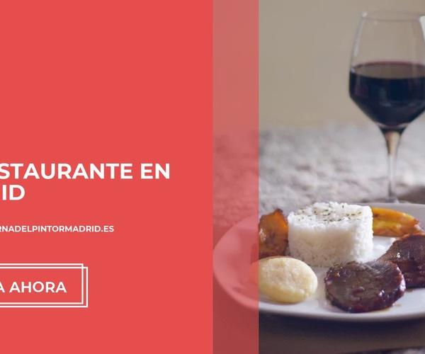Cocina venezolana Barrio de Salamanca | La Taberna del Pintor