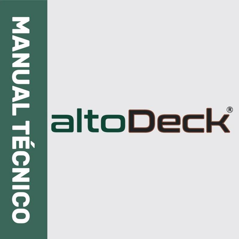 Manual Técnico Alto-Deck:  de Puertas Pucho