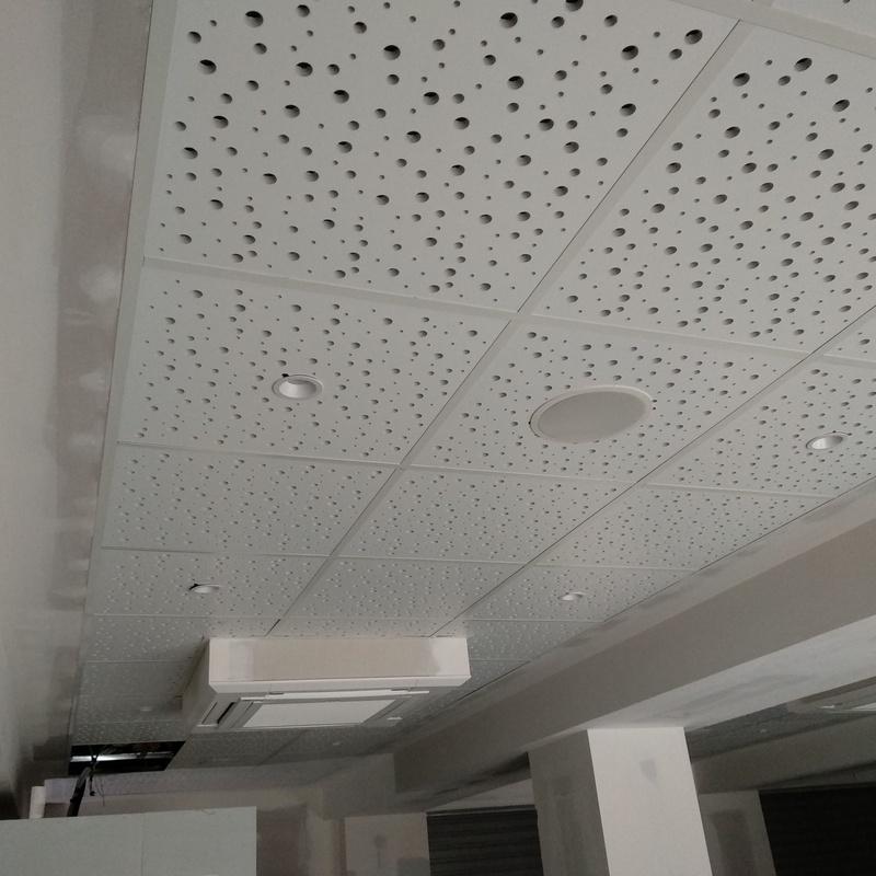 FALSOS TECHOS DESMONTABLES: Productos y servicios  de Acoustic Drywall