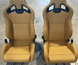 Tapizado de asientos en cuero: Nuestros servicios de Autotapizados & Restauración M. Paraíso