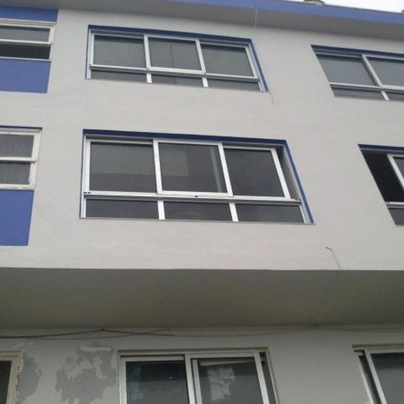 Impermeabilización y reparación de fachadas y cubiertas: Catálogo de RYMDECO