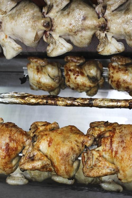 Pollos asados hortaleza