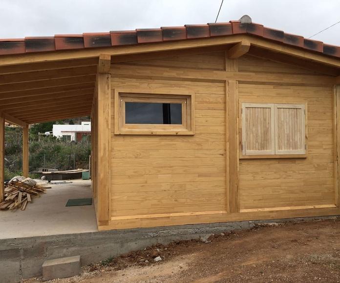 Cabaña madera Tenerife Sur