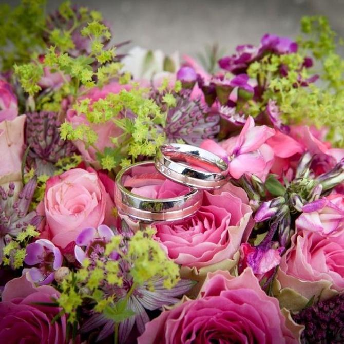 Ideas para decorar bodas con flores