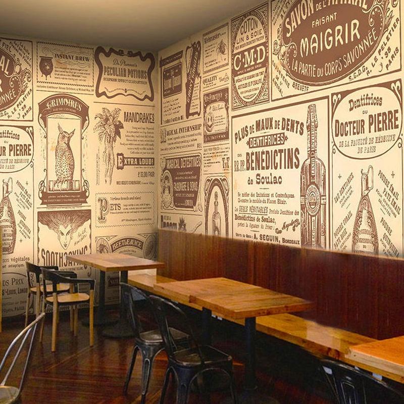 Papel pintado para restaurantes en Madrid