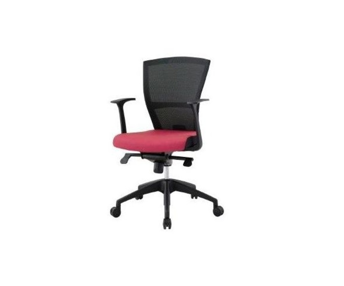 sillon ergonomico radius-05. asiento tap rojo (+30 €)