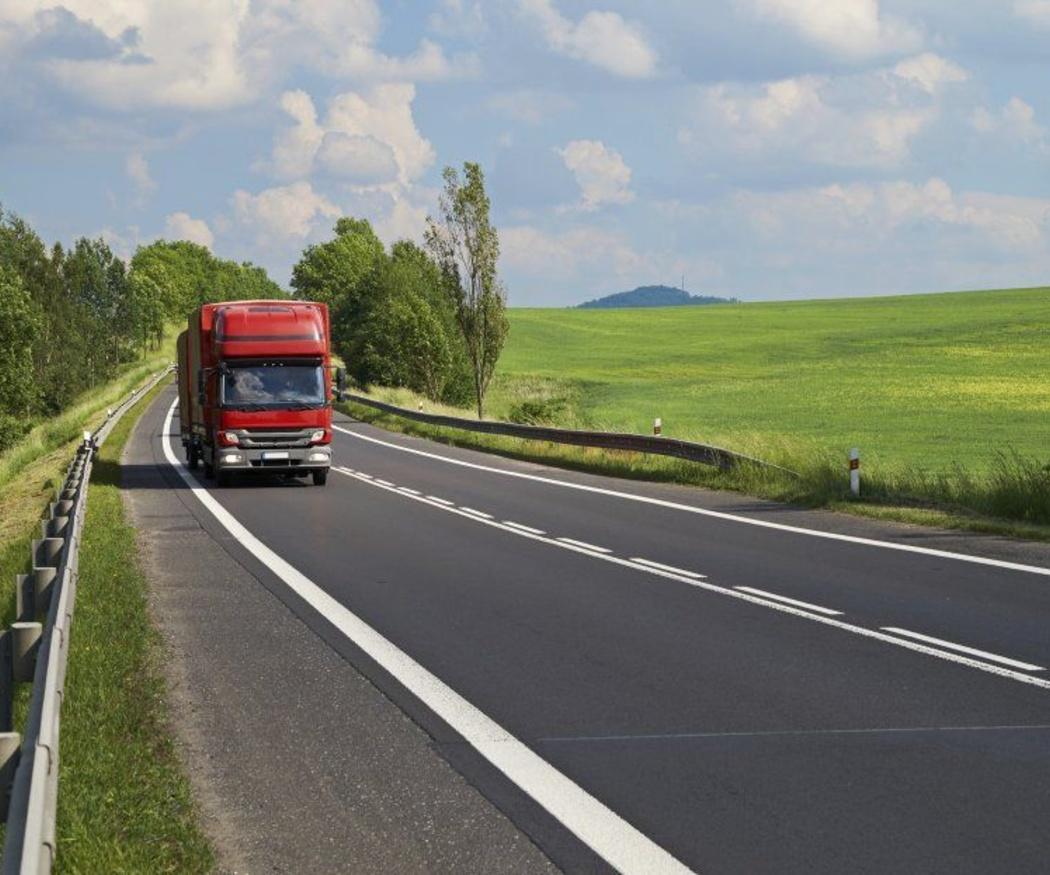 El transporte de mercancías en España