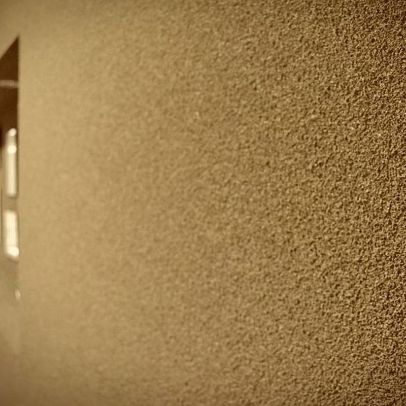 Revestimiento de fachadas con corcho proyectado: Servicios de IMPERGAM
