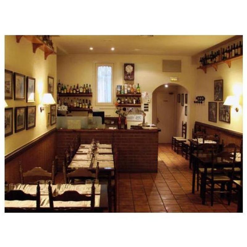 Tostadas con queso: La carta de Restaurant Brasería El Caliu