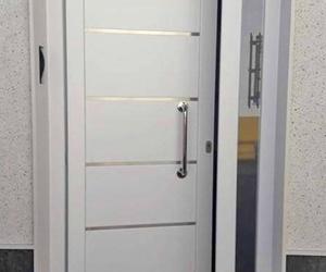 Cerradura de puerta de aluminio lacado