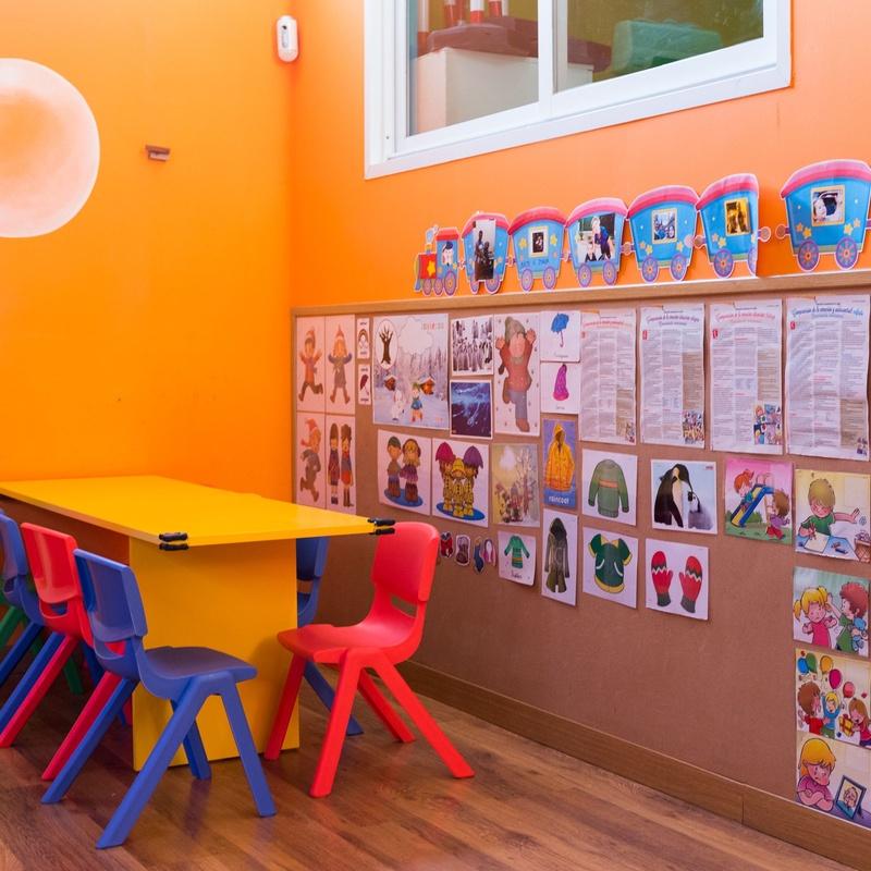 Aula Naranja (2-3 años): Centro Infantil Pompitas de Centro Infantil Pompitas