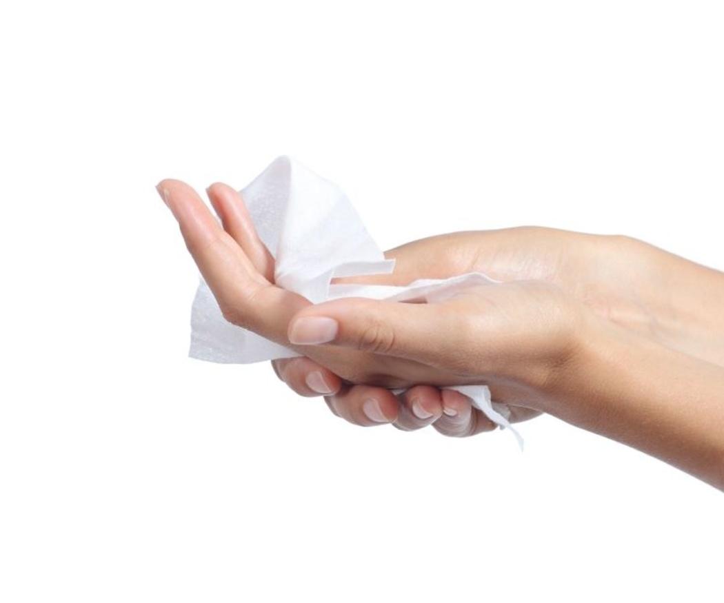 Danger: toallitas húmedas