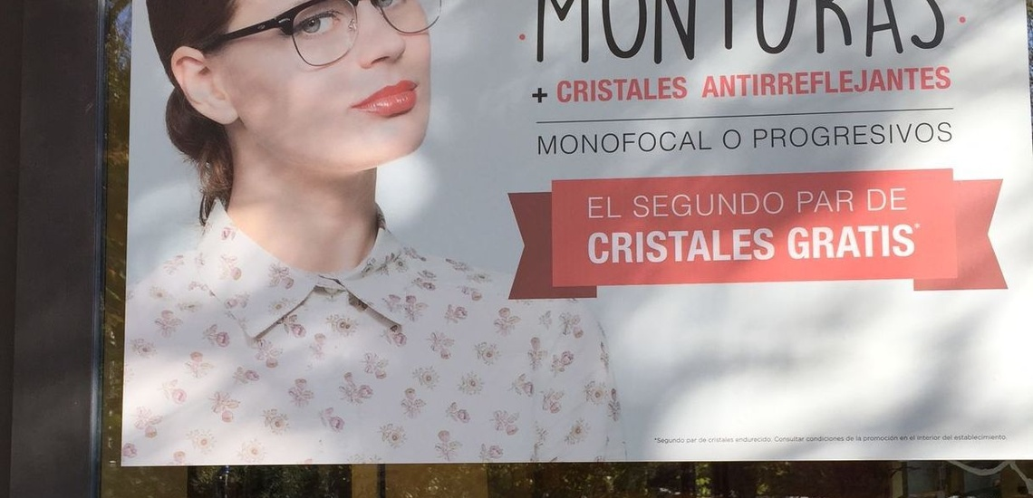 Óptica de lentes en Arturo Soria