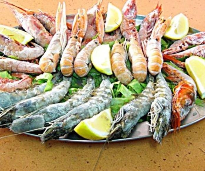 Parriladas: tapas mediterraneas de Restaurante Llevant