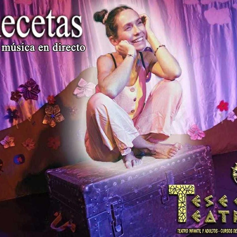 Recetas: Cartelera y actividades de Teseo Teatro