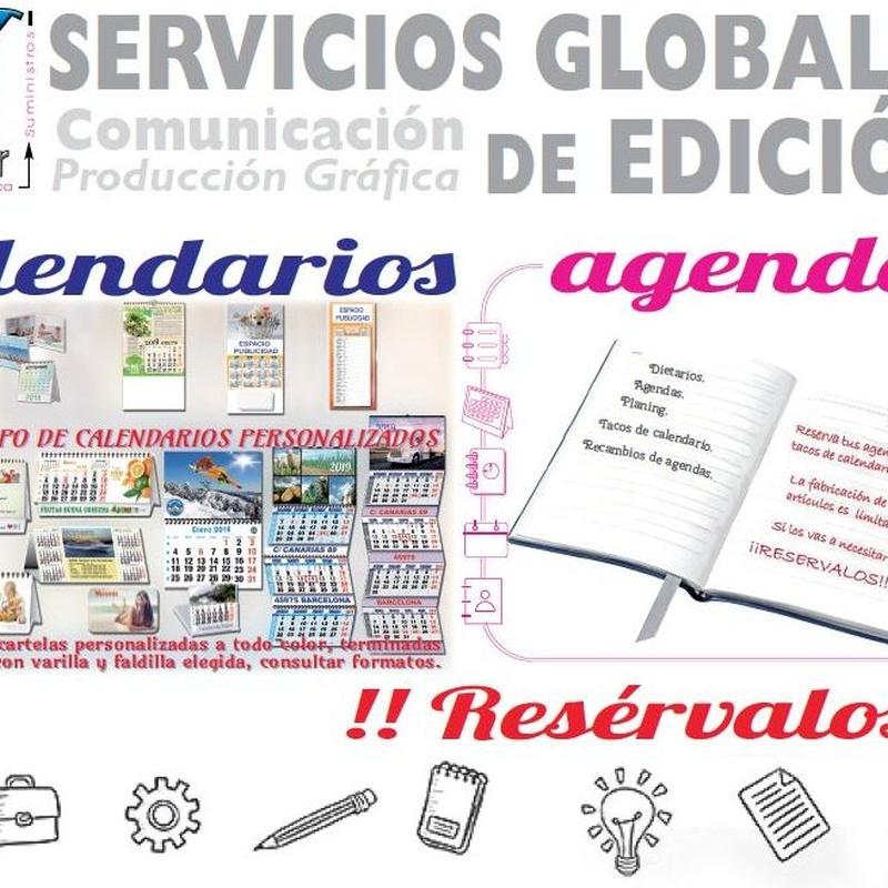 Calendarios y agendas 2019