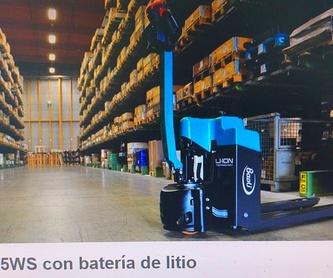 TRANSPALETAS CON PLATAFORMA BAOLI: Maquinaria de ocasión de Carretillas Elevadoras A.L.A., S.L.