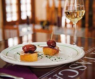 Primero | Horsd'oeuvres |Vorspeisen: Carta de Restaurante La Tasca