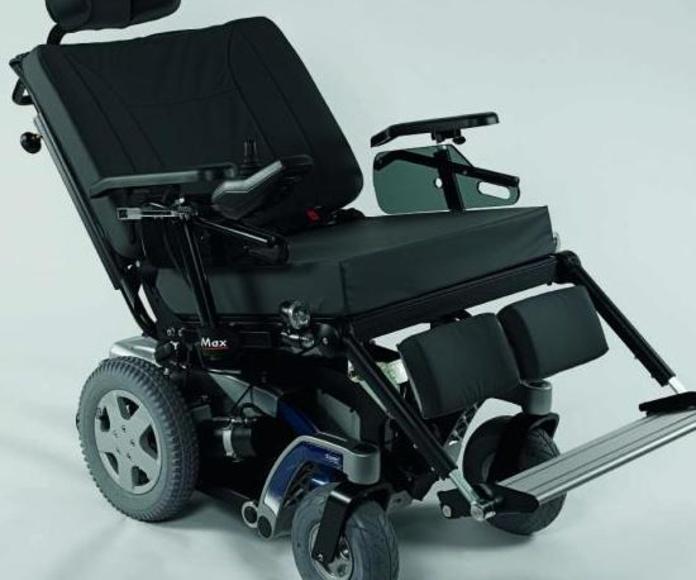 Sillas ruedas eléctricas para personas con peso elevado