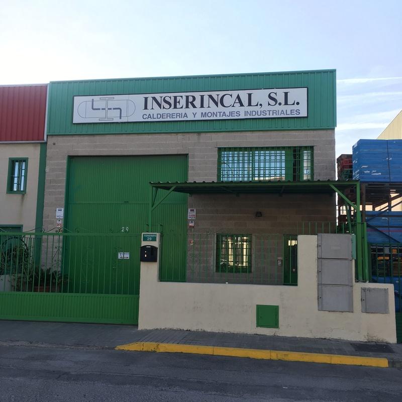 Nuestros talleres: Servicios de caldedería de INSERINCAL, S.L.