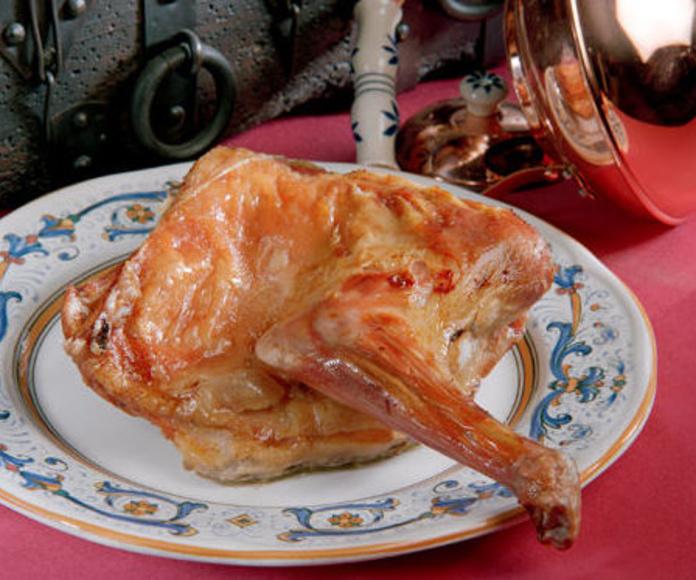 Carnes: Nuestra Carta y Servicios de Restaurante Mesón Del Cid
