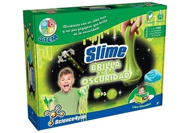 Science4you Slime Brilla en la Oscuridad