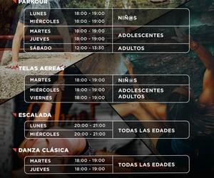CLASES DE PARKOUR, TELAS Y OTRAS ACTIVIDADES ONLINE