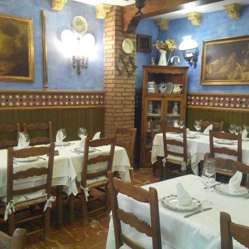 Menú de Ejecutivo - Opción 2: Especialidades de Restaurante Los Andaluces