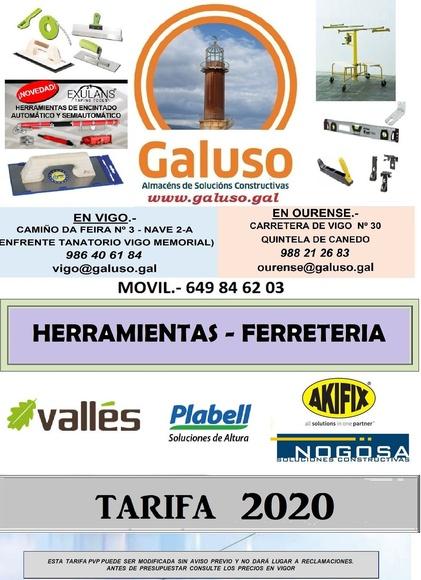 Herramientas y Ferretería : Catálogo de Galuso