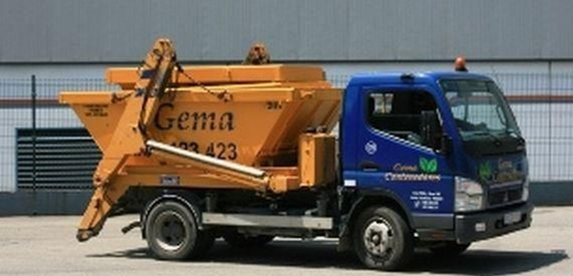 Recogida de residuos en Avilés