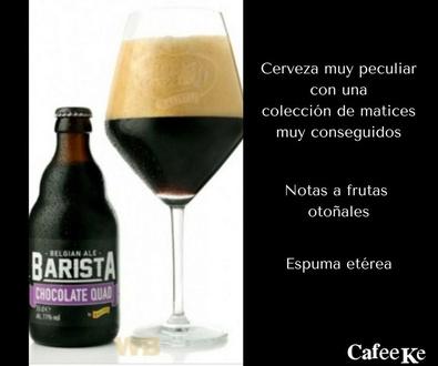 "Nueva Cerveza Kasteel ""Barista Chocolate Quad"""