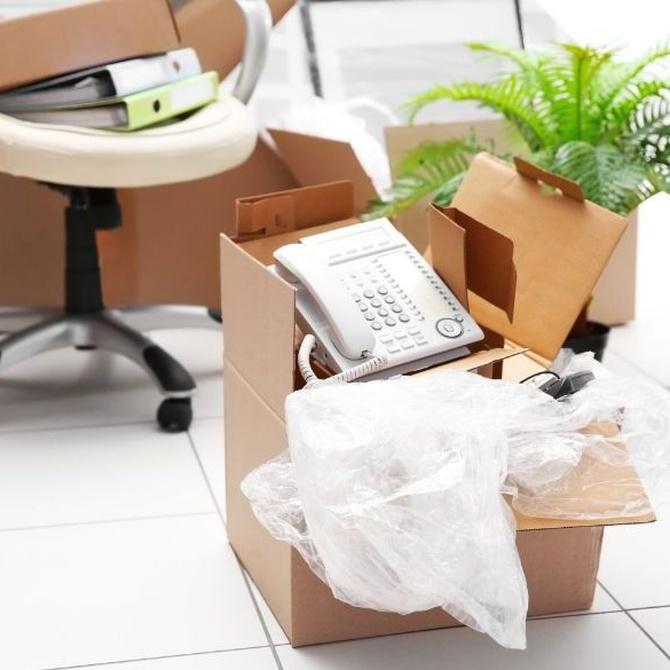 ¿Cómo organizar la mudanza de una oficina?