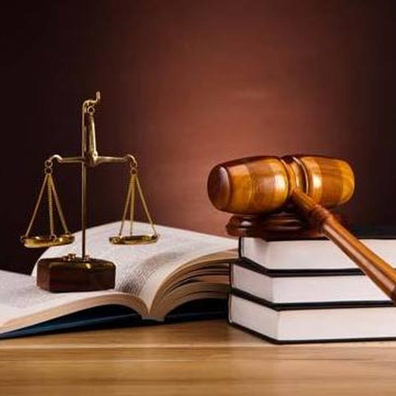 Defensa y asesoramiento jurídico a:: Servicios de Administrador Vicente Díaz López