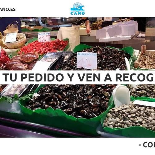 Pescado y marisco en Barcelona: Pescadería Antonio Cano