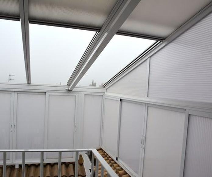 Cerramientos de terraza: Productos de TMR Techos Móviles Rute