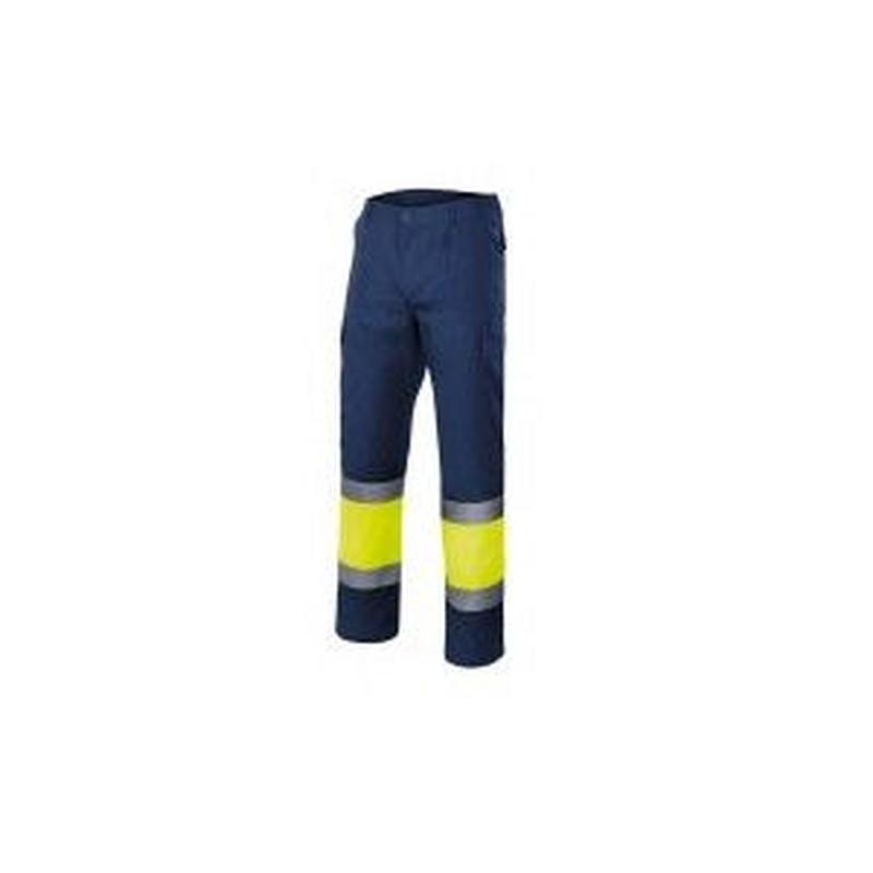 Serie 303003 / Pantalón bicolor multibolsillos alta visibilidad: Nuestros productos  de ProlaborMadrid
