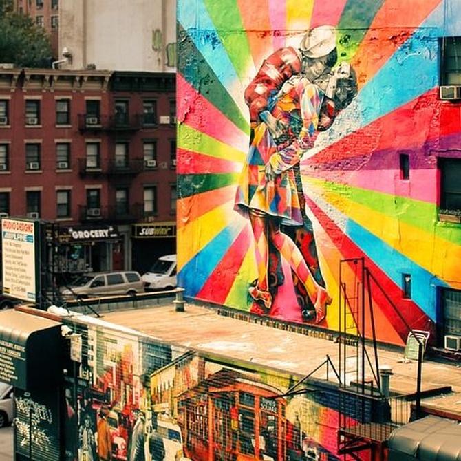 Arte urbano y pintura de fachadas