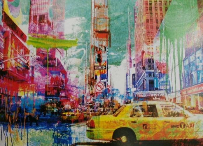 Chestier. Taxis in Time Square (HOR) t3: CATALOGO de Quadrocomio La Casa de los Cuadros desde 1968