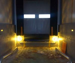 Abrigo de muelle de carga plataforma automática (punto completo)