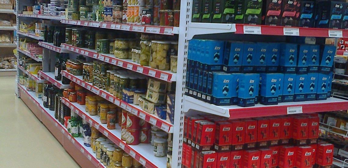 Estanterías para supermercados en Málaga, Estanterías Tapia