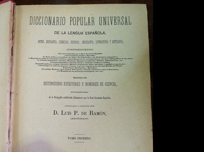 Diccionario : Catálogo de Rastro Remar