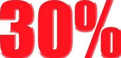 Lanzamiento cupón descuento 30%